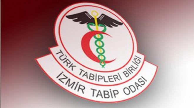 İzmir Tabip Odası'nın genel kurul kararına itiraz!