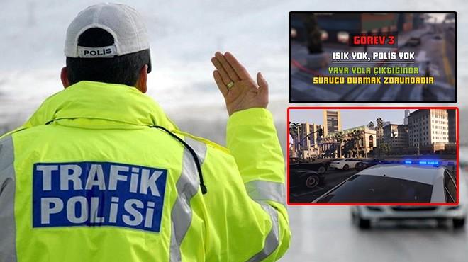 İzmir Valiliği paylaştı: Trafiğe 'GTA'lı önlem