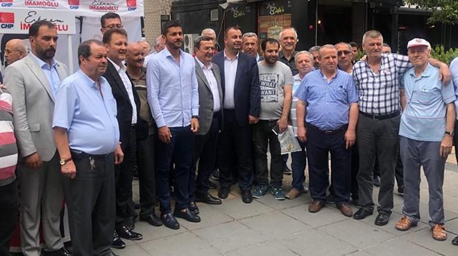 İzmirli üç başkan İmamoğlu için İstanbul'da sahada!