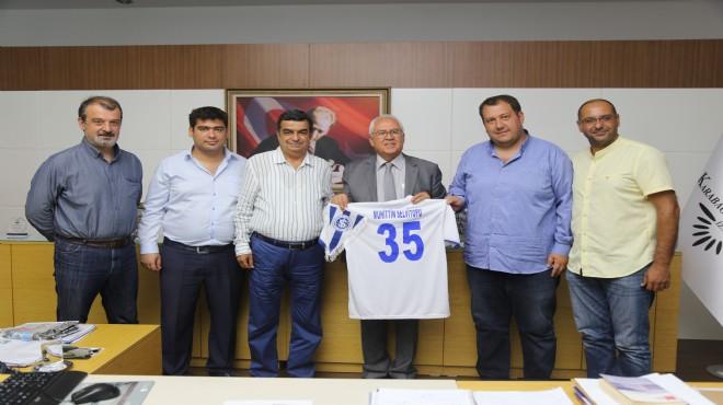 İzmirspor yönetiminden Selvitopu'na ziyaret