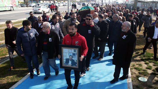 Karşıyaka'da Bülent Zeren yası