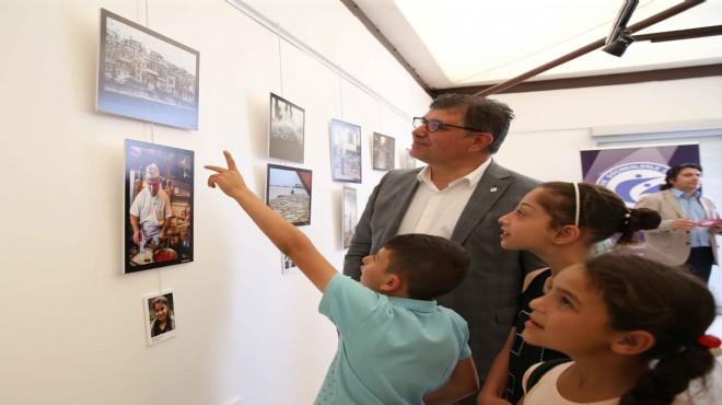 Karşıyaka'da çocuklardan fotoğraf sergisi