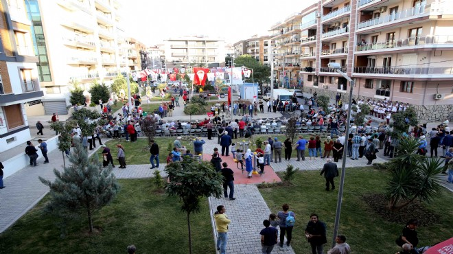 Karşıyaka'da Okan Yüksel Parkı açıldı