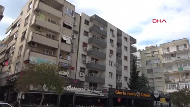 Karşıyaka'da yıllardır böyle: Eğik apartmanlarda tehlike sinyali!
