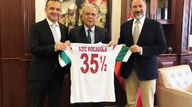 Karşıyaka'dan Başkan Kocaoğlu'na ziyaret