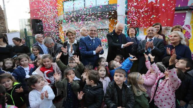 Karşıyaka'nın yeni eğitim yuvası yola çıktı