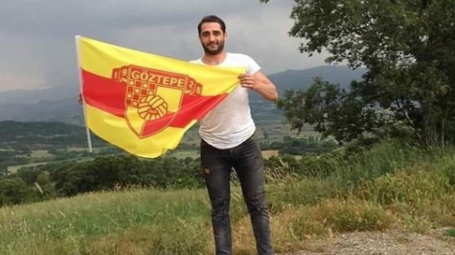 Kazada ölen taraftar için Göztepe'den mesaj