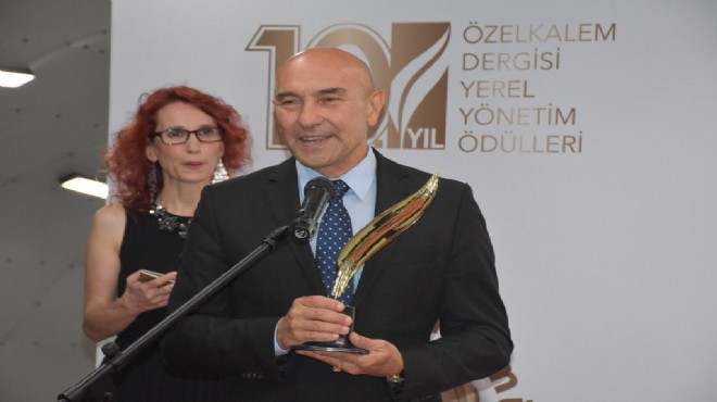 Kent ekonomisine katkı ödülü Seferihisar Belediyesi'ne verildi
