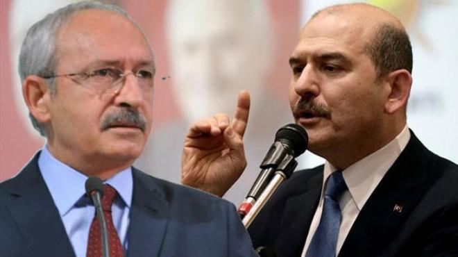 Kılıçdaroğlu'ndan Bakan Soylu için flaş suç duyurusu
