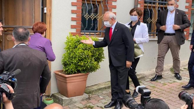 Kılıçdaroğlu ve İmamoğlu Akşener'i ziyaret etti