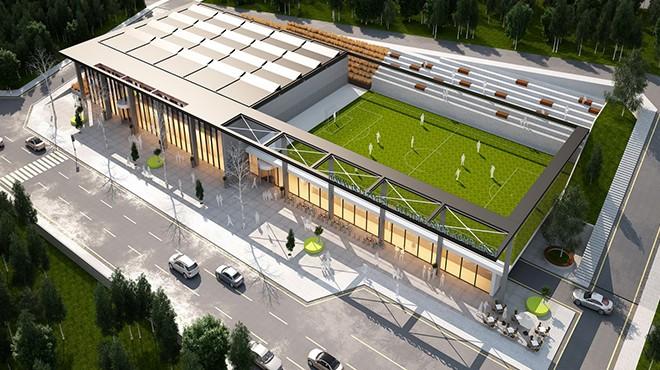 Konak'a bahar müjdesi: Spor tesis yola çıkıyor