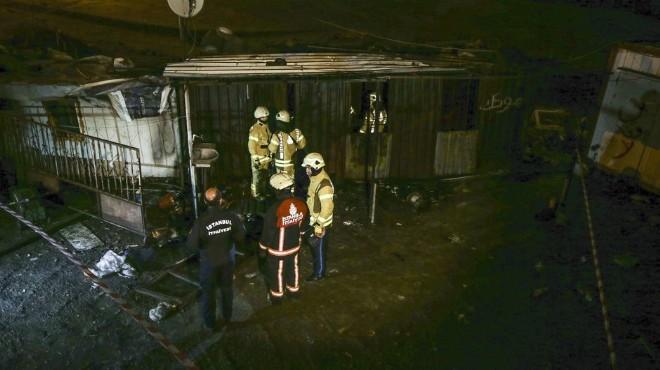 Konteynerde yangın: 3 işçi hayatını kaybetti