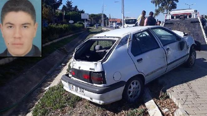 Korkutan kaza! İzmir'de dualar Engin öğretmen için...