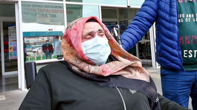 Koronavirüsü yenen kadından yürek burkan sözler... 'Çift geldim tek gidiyorum'