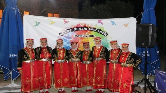 Köyde Şenlik Var Bayındır'dan geçti