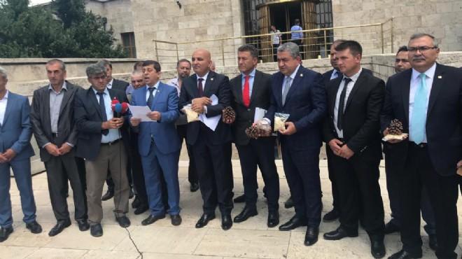 Kozak Yaylası'nın çığlığı Meclis önünde!