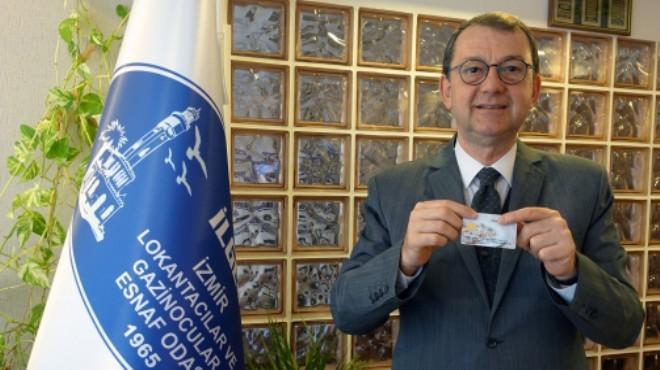 Lokantacıların başkanı Yenice'den yemek kartı firmalarına çağrı!