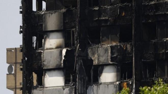 Londra'daki yangında ölenlerin sayısı 79'a yükseldi