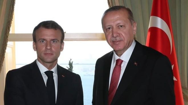 Macron'dan, Cumhurbaşkanı Erdoğan'a mektup