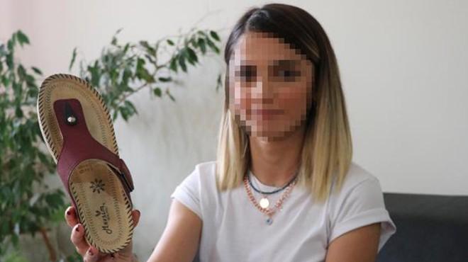 Mahkemeden akıl almaz karar! Tacizciye terlik 'silah' sayıldı
