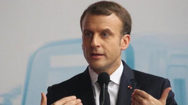 Macron: Türkiye ile Rusya'nın arasını açtık