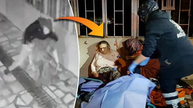 Manisa'da evlat dehşeti! Annesini defalarca bıçakladı