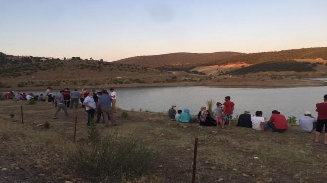 Manisa'da gölette kaybolan kişinin cesedi bulundu