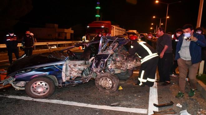 Manisa'da kanlı kaza: 2 ölü, 4 yaralı!
