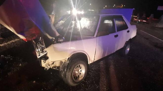 Manisa'da korkunç kaza: Ölüler ve yaralılar var!