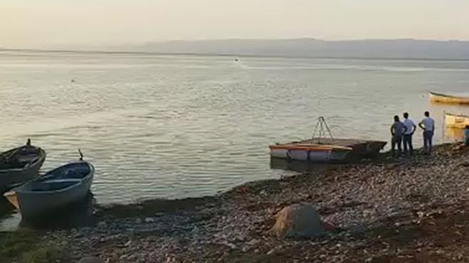 Manisa'da tekne alabora oldu: Biri çocuk 2 ölü!