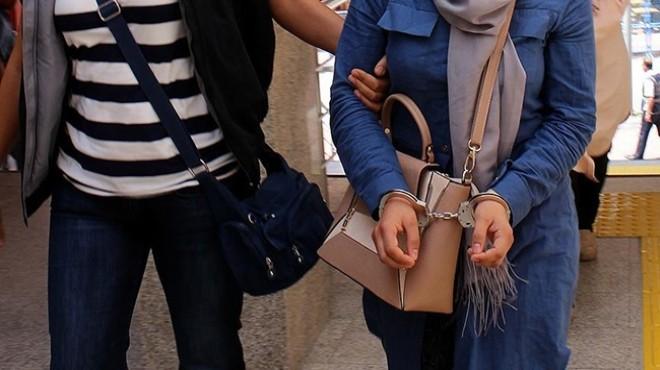 Manisa'da terör operasyonu: 10 kadın gözaltında!