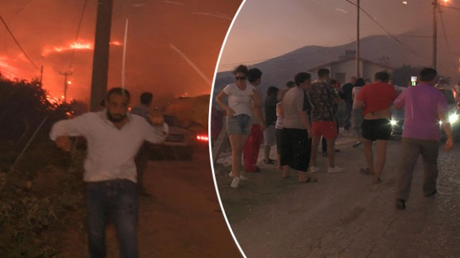 Marmara Adası'nda yangın kontrol altına alındı!