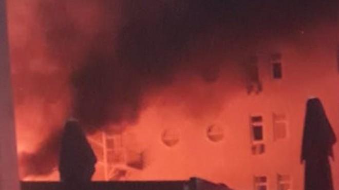 Marmara Üniversitesi'nde yangın!
