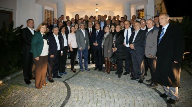 Meclis sonrası başkanlardan 'İnce' ziyaret