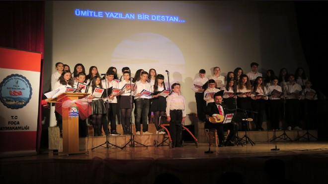 Mehmet  Akif Ersoy, Foça'da anıldı