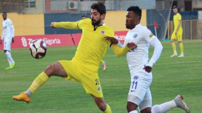 Menemen Belediyespor'da Alberk'e Süper Lig kancası