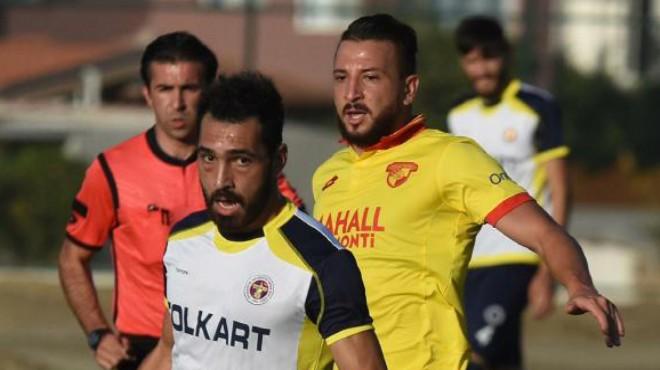 Menemen Belediyespor'un golcüleri iyi başladı