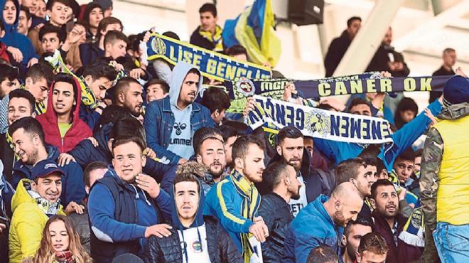 Menemenspor'a ilgi yok: 155 taraftar e-bilet aldı