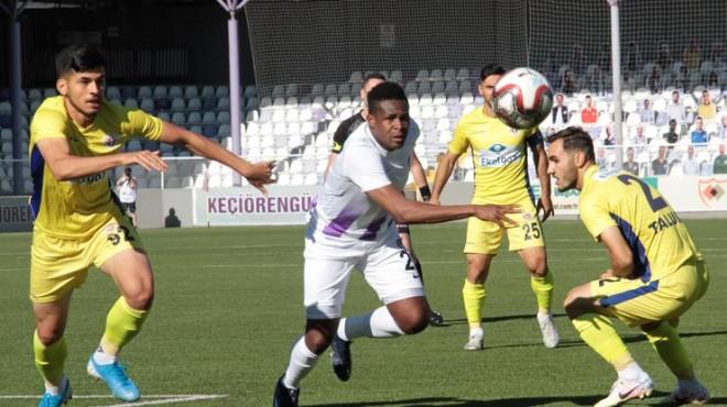 Menemenspor Play-Off'a havlu attı