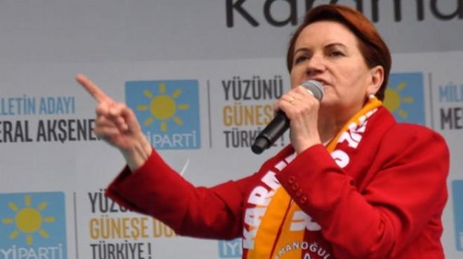 Meral Akşener: Kayseri'yi Milano yapacağım