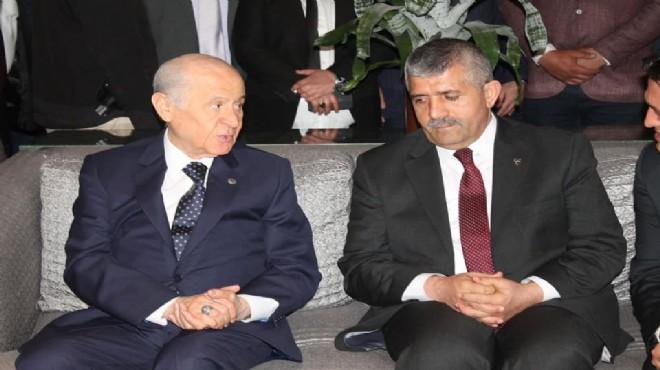 MHP'de gündem Hasan Tahsin… Başkan Şahin Lider'e anlattı!