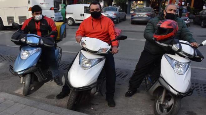 Motosikletli kurye sayısındaki artış gayriresmi çalışanlardan kaynaklı iddiası