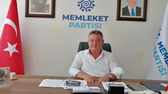 MP İl Başkanı Oğuz: En kısa zamanda İzmir'de birinci parti olacağız!
