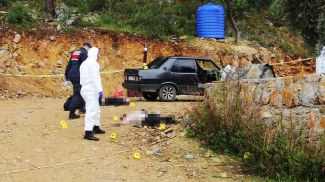 Muğla'da baba-oğul cinayet kurbanı!