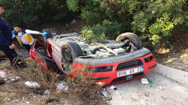Muğla'da feci kaza: 1 ölü, 3 yaralı