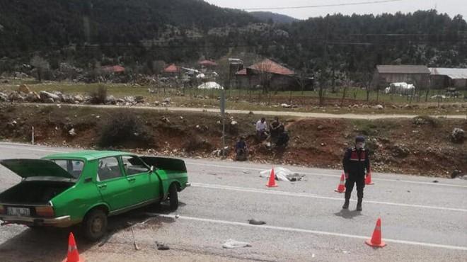 Muğla'da feci kaza: 2 kişi hayatını kaybetti