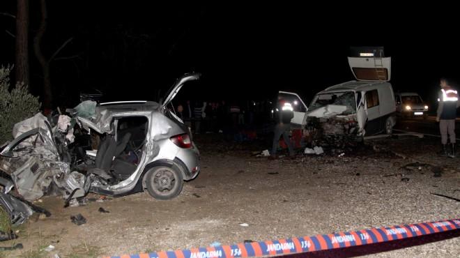 Muğla'da feci kaza! Ölüler ve yaralılar var!
