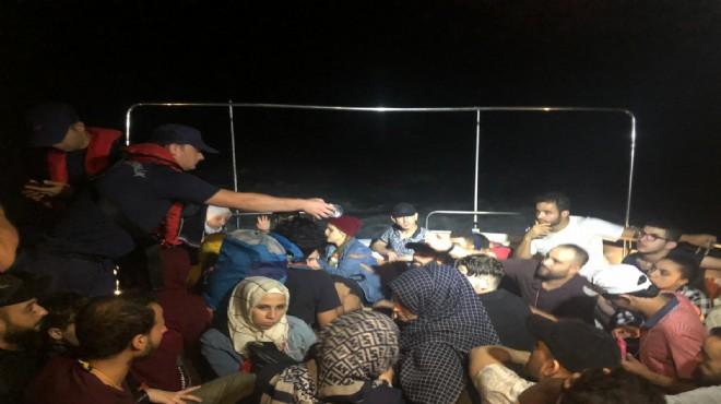 Muğla'da kaçak göçmen operasyonu: 60 kişi yakalandı