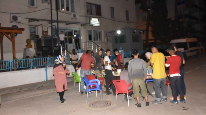 Mültecileri Yunanistan yerine Germencik'e bıraktılar