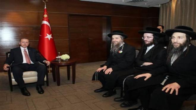 Musevi Cemaati üyelerinden Erdoğan'a ziyaret